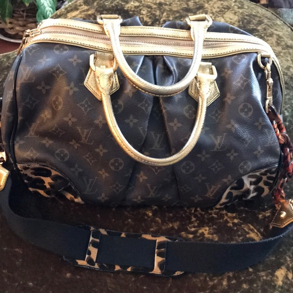 643f1360e67 Louis Vuitton Bags   Rare Authentic Leopard Pony Bag   Poshmark